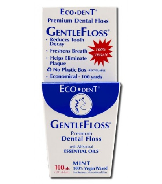 [Eco-Dent] Dental Floss Mint, Gentle