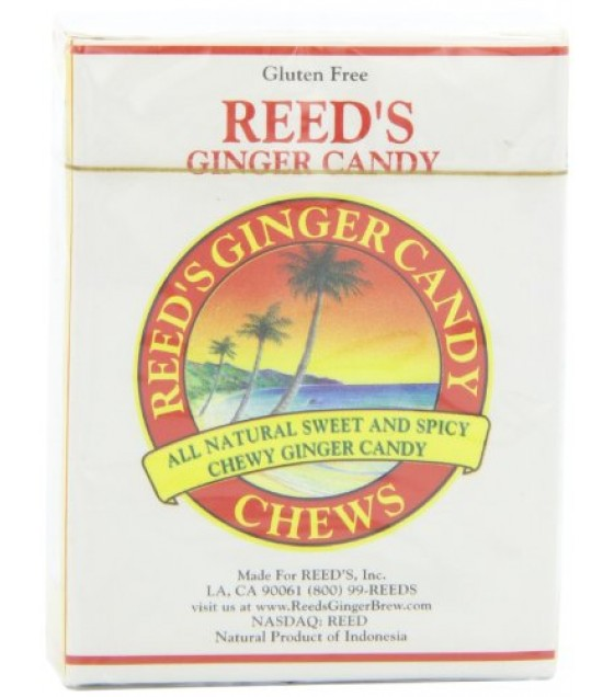 [Reed`S Inc.] Candy Ginger Rolls, Chewy