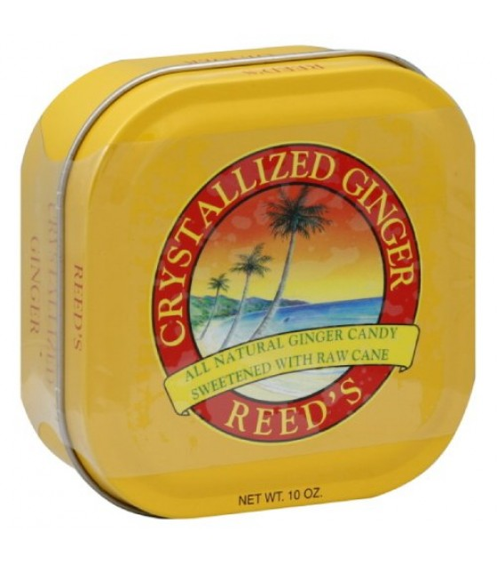 [Reed`S Inc.] Crystallized Ginger Diced, Tins