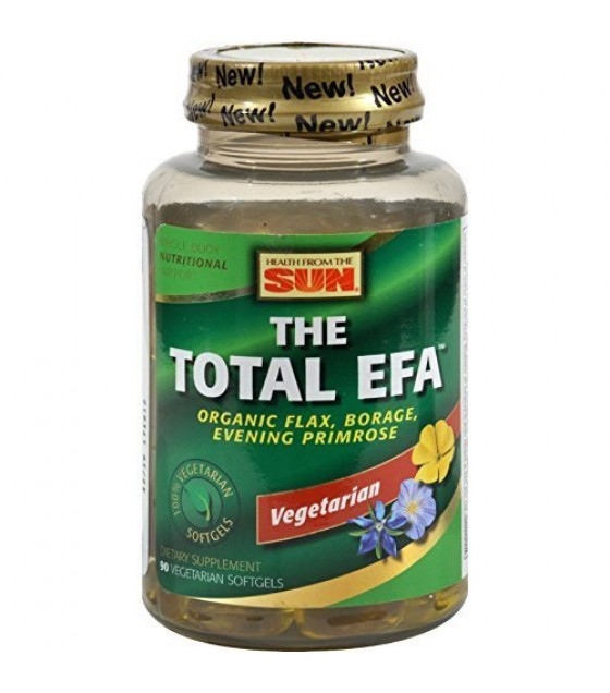 [health From The Sun] Total Efa,100% Vegetarian