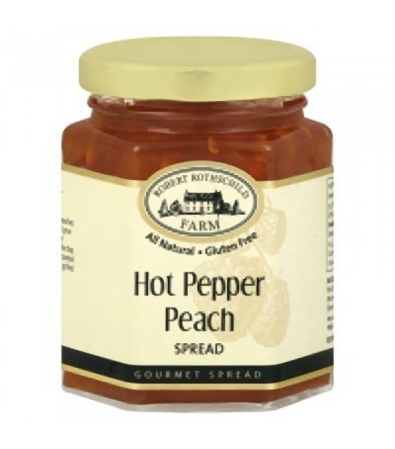 [Robert Rothschild Farm] Gourmet Spreads Hot Pepper Peach
