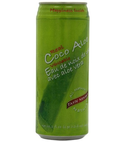 [Taste Nirvana] All Natural Beverages Coconut Water, Coco Aloe