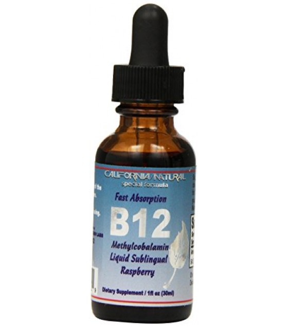 [California Natural] B-12 LIQUID