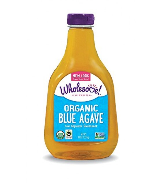 [Wholesome Sweeteners] Organic Sweeteners Blue Agave, Light  At least 95% Organic