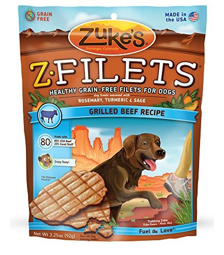 [Zuke`S] Dog Treats Z-Filets, Beef