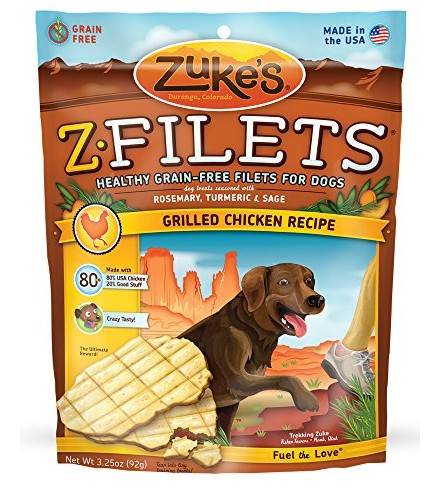 [Zuke`S] Dog Treats Z-Filets, Chicken