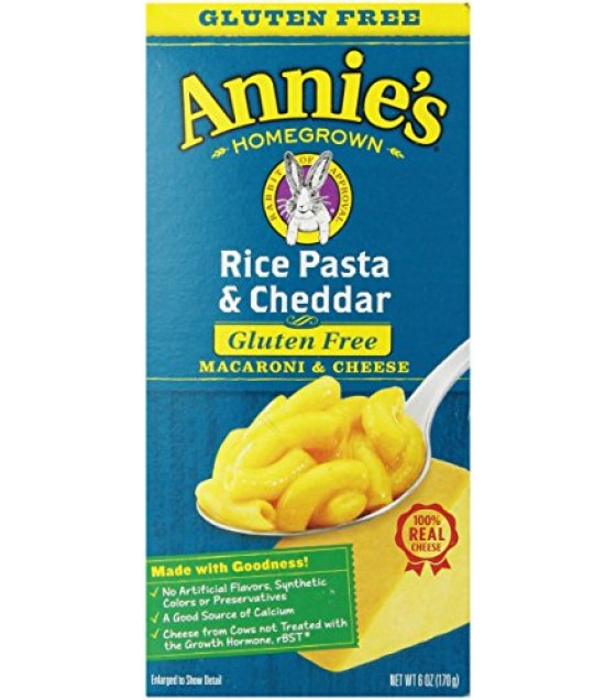 [Annie`S Homegrown] Natural Mac & Cheese Rice Pasta & Cheddar Cheese