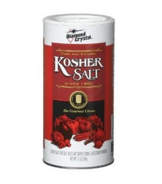 [Diamond Crystal] Pure & Natural Kosher Salt Round Container