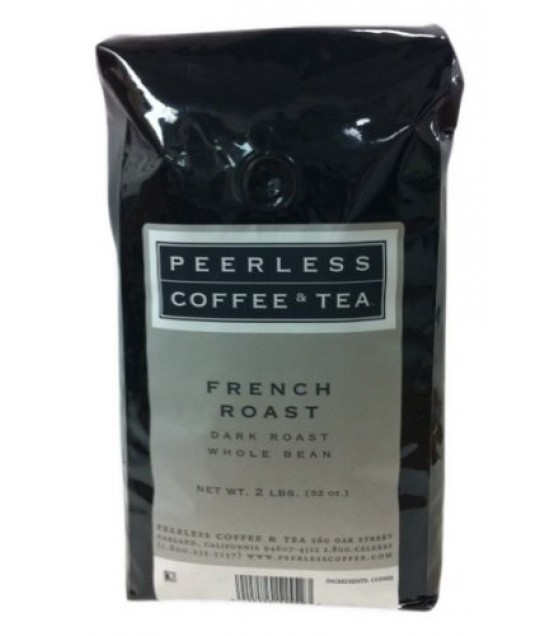 [Peerless Coffee]  French Roast, Whole Bean