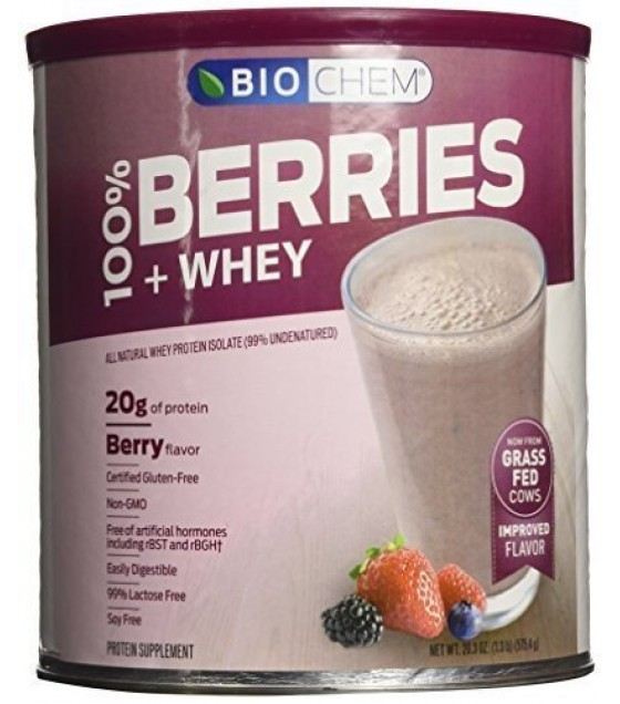[biochem Sports] Berries & Whey,100%,pwd