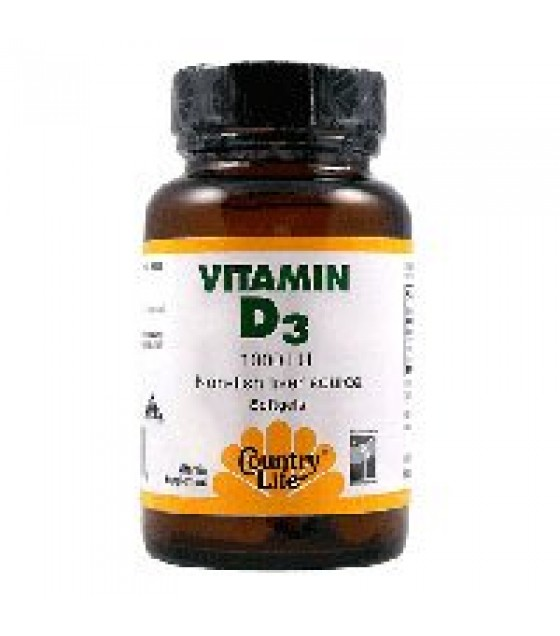[country Life Vitamins] Vitamin D3,1000 Iu