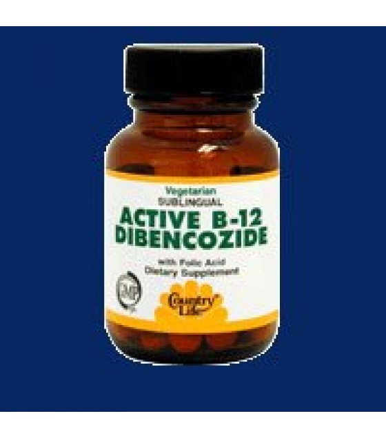 [country Life Vitamins] Active B-12,dibenco,3000