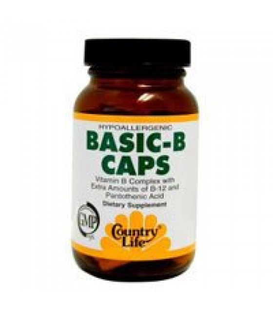 [country Life Vitamins] Basic B