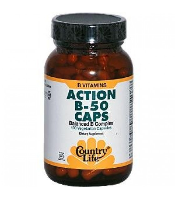 [country Life Vitamins] Action B-50