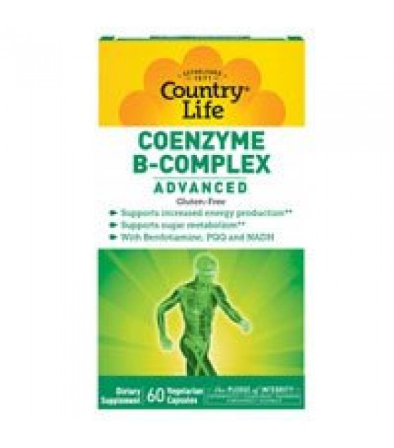 [country Life Vitamins] Coenzyme B-complex Advncd