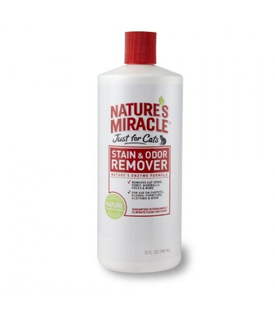 [Nature`S Miracle]  Just For Cats Stain & Odor Remover