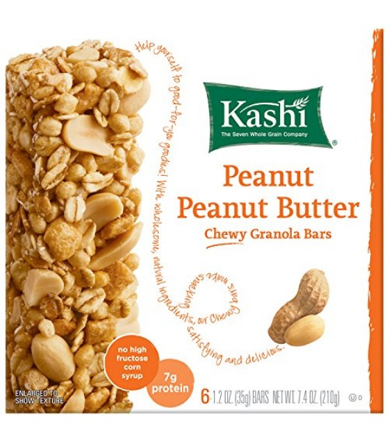 [Kashi] Snack Bars TLC Peanut Butter, Chewy Granola