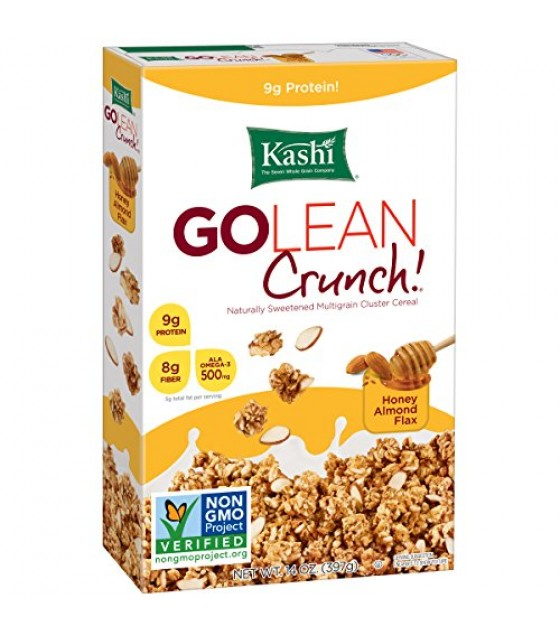 [Kashi] GoLean Cereal Crunch, Honey Almond Flax