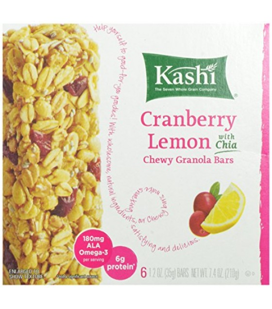 [Kashi] Snack Bars Chewy Berry Lemonade
