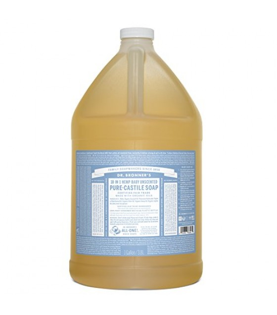 [Dr. Bronner`S Magic Soaps] Organic Liquid Soap Baby Mild  At least 70% Organic