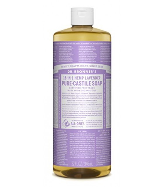 [Dr. Bronner`S Magic Soaps] Organic Liquid Soap Lavender  At least 70% Organic