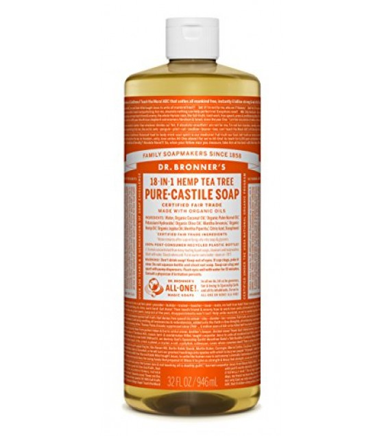 [Dr. Bronner`S Magic Soaps] Organic Liquid Soap Tea Tree  At least 70% Organic