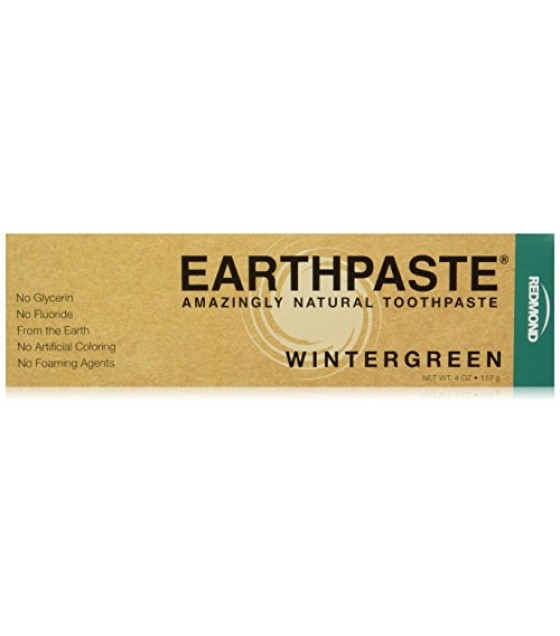 [Redmond Clay] Oral Care Earth Paste, Wintergreen