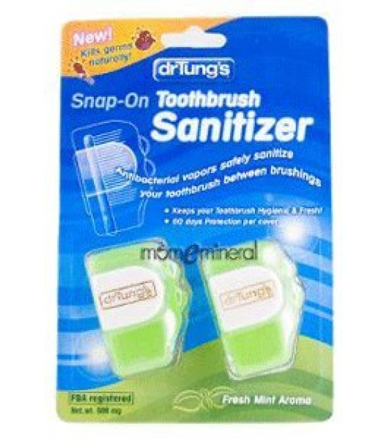 [Dr. Tung`S]  Toothbrush Sanitizer, 2 Per Card