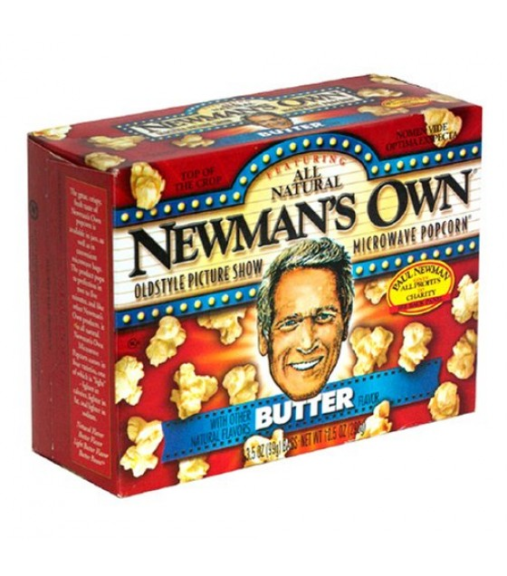 [Newman`S Own] Popcorn Microwave, Buttered