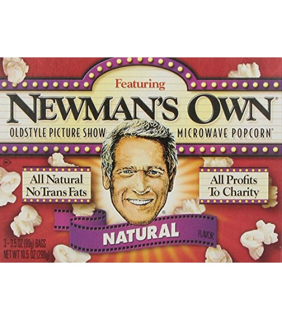 [Newman`S Own] Popcorn Microwave, Nat