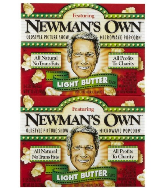 [Newman`S Own] Popcorn Microwave, Light Buttered