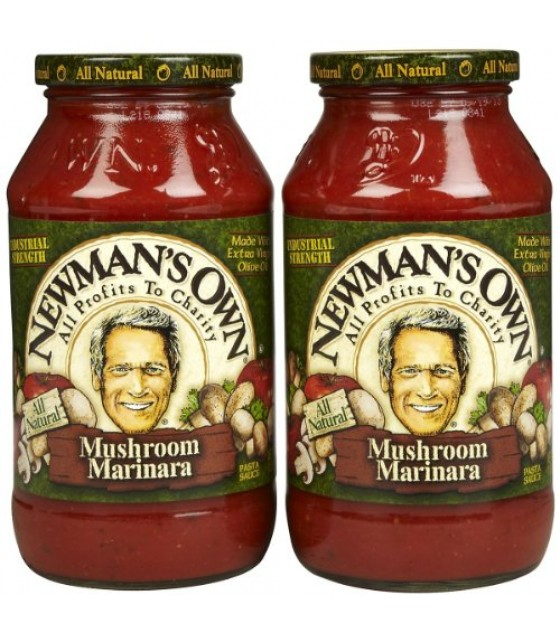 [Newman`S Own] Pasta Sauces Marinara W/Mushrooms