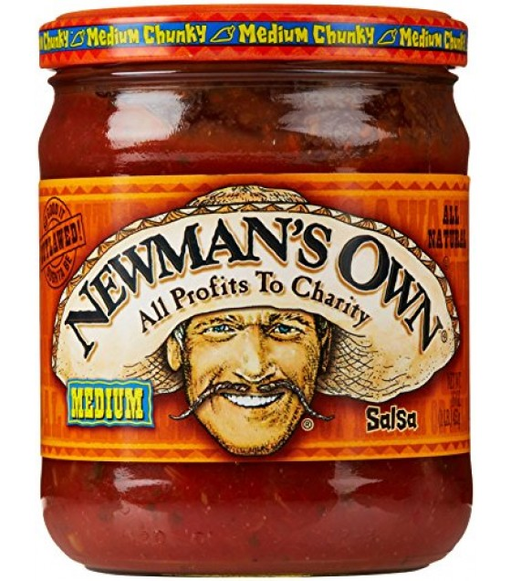 [Newman`S Own] Salsas Medium, Chunky