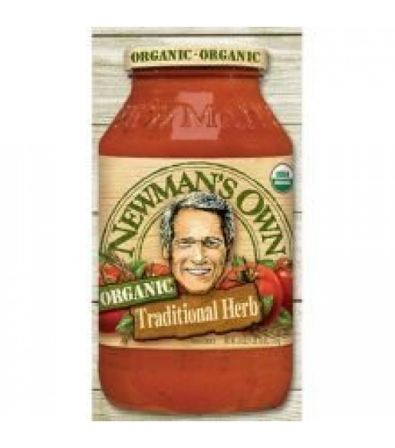 [Newman`S Own] Pasta Sauces Traditional Herb  At least 95% Organic