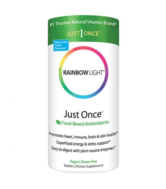 [Rainbow Light] One-Per-Day Multivitamins Just Once Multi w/Iron