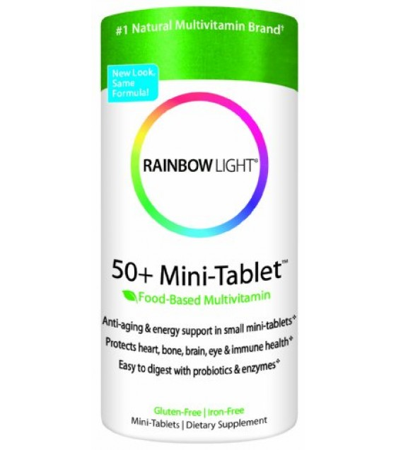 [Rainbow Light] Multiples 50+ Age-Defense, Mini-Tabs
