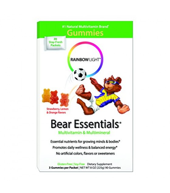 [Rainbow Light] Women & Children Gummy Bear Essentials Multi