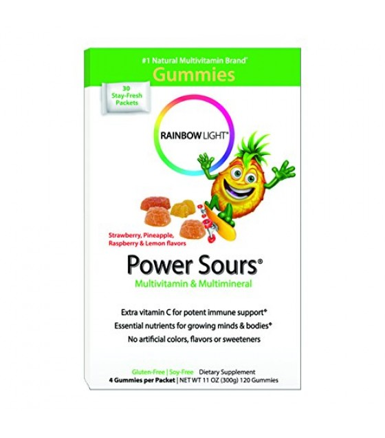 [Rainbow Light] Women & Children Gummy Power Sours Multi