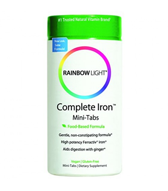 [Rainbow Light] Vitamins/Minerals/Antioxidants Complete Iron System