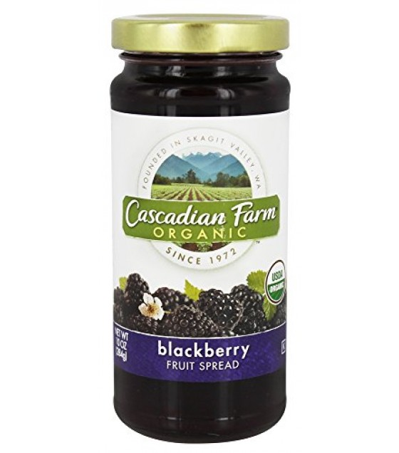 [Cascadian Farm] Fancy Fruit Spreads Blackberry  At least 95% Organic