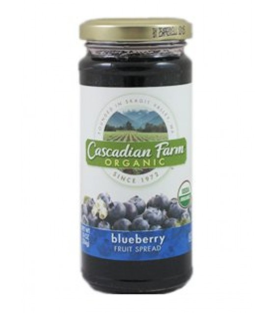 [Cascadian Farm] Fancy Fruit Spreads Blueberry  At least 95% Organic