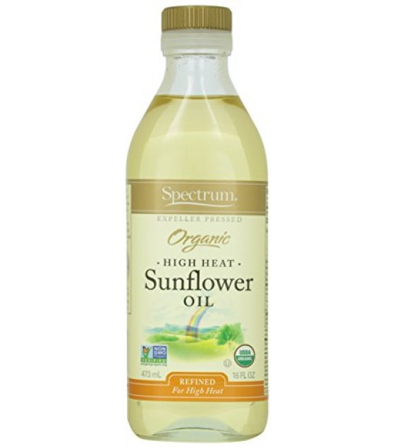 [Spectrum Naturals] Oils Sunflower, Refined  At least 95% Organic