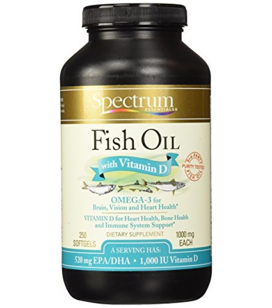 [Spectrum Essentials] Fish Oil Fish Oil With Vitamin D