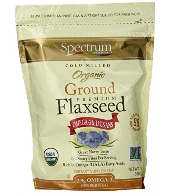 [Spectrum Essentials] Flaxseed Flaxseed Meal  At least 95% Organic