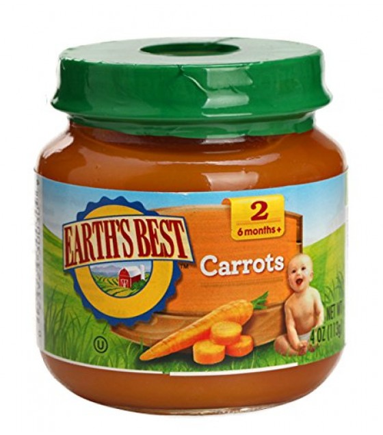 [Earth`S Best Baby Foods] Fruit & Vegetables Carrots  At least 95% Organic