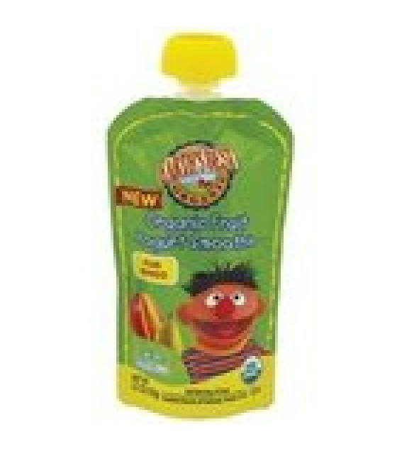 [Earth`S Best Baby Foods] Organic Fruit Yogurt Smoothie Pear Mango  At least 95% Organic
