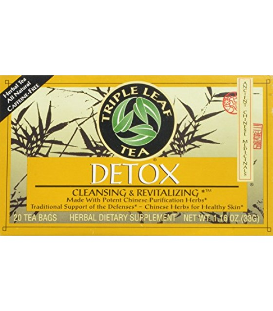 [Triple Leaf Tea] Chinese Medicinal Teas Detox
