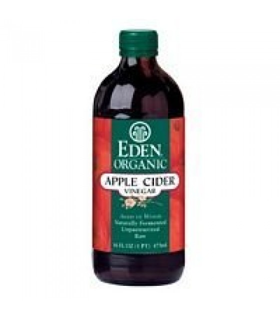 [Eden Foods] Oils & Vinegars Vinegar, Apple Cider  100% Organic