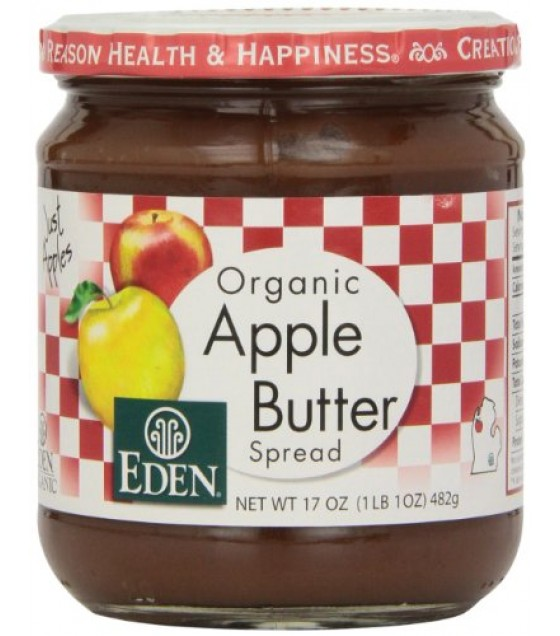 [Eden Foods] Fruit Products Apple Butter  At least 95% Organic
