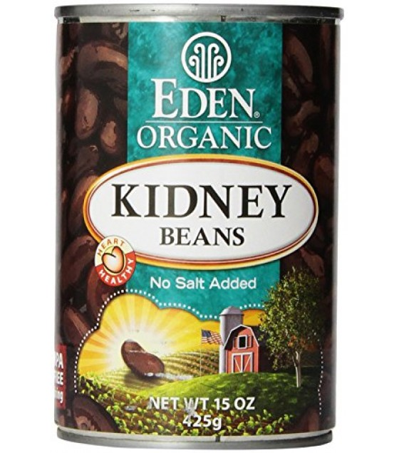 [Eden Foods] Organic Beans Beans, Kidney, Fat Free  At least 95% Organic